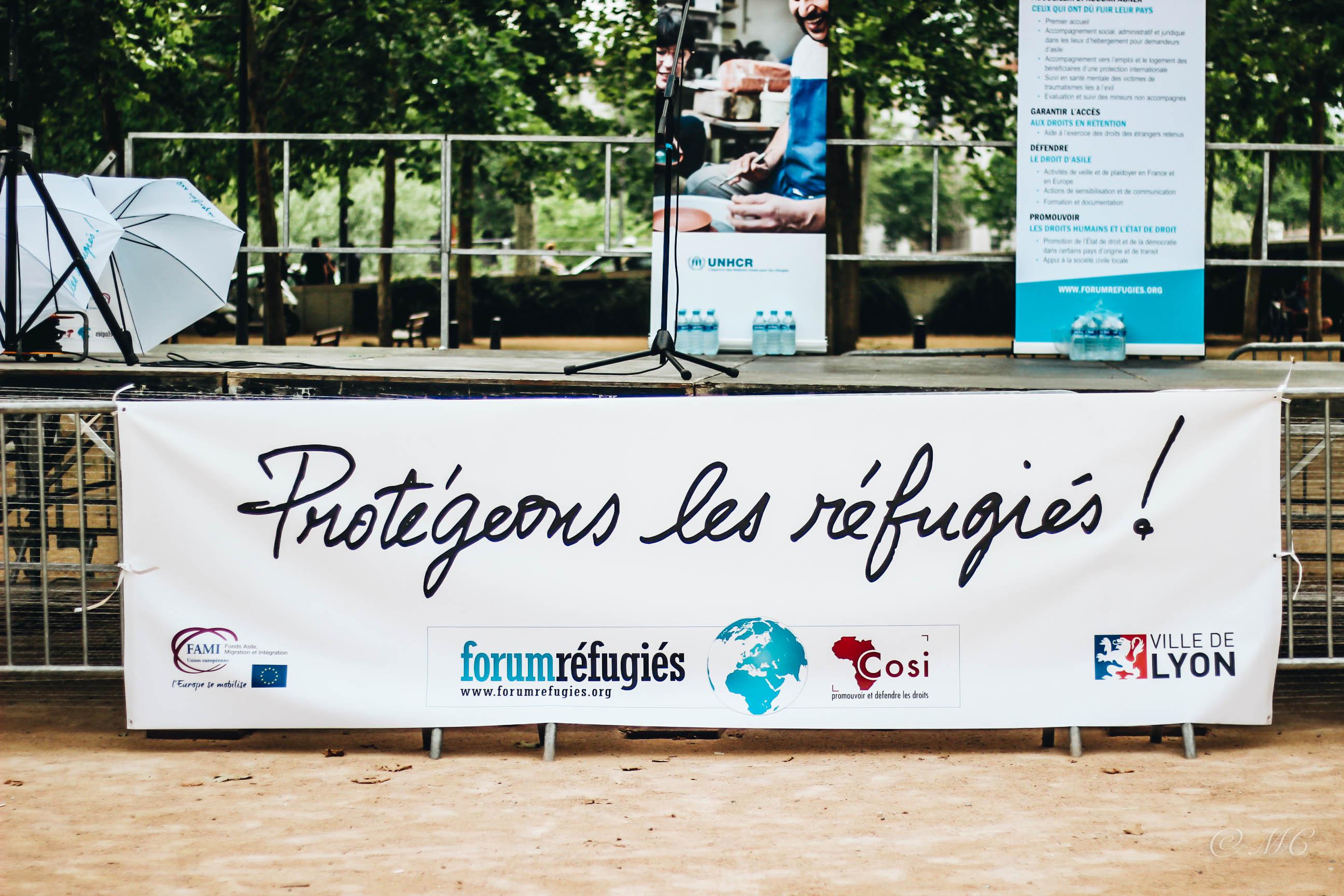 Soutenez Forum réfugiés-Cosi